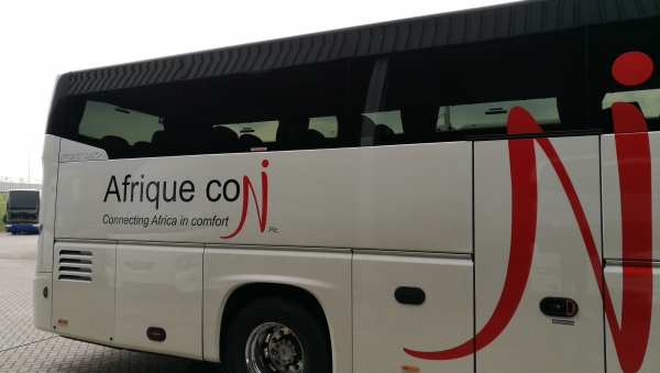 Afrique con takes delivery of first passenger bus